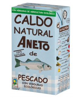 Organic Fish Broth 1L (6 units carton)