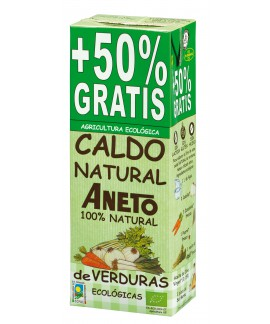 Organic Vegetables broth 1.5L (10 units carton)