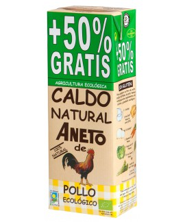 Organic Chicken broth 1,5L (10 units carton)