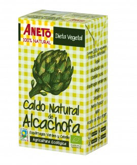 Organic artichoke broth (6 units carton)